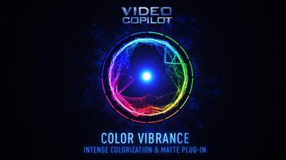 پلاگین افترافکت Color Vibrance ابزار رنگ آمیزی افکت و مت