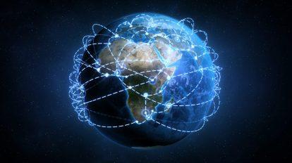 موشن گرافیک واقعگرایانه کره زمین با گسترش شبکه جهانی