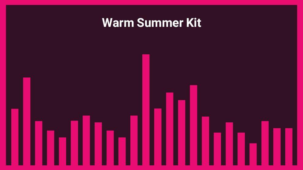 مجموعه موزیک زمینه تابستان گرم
