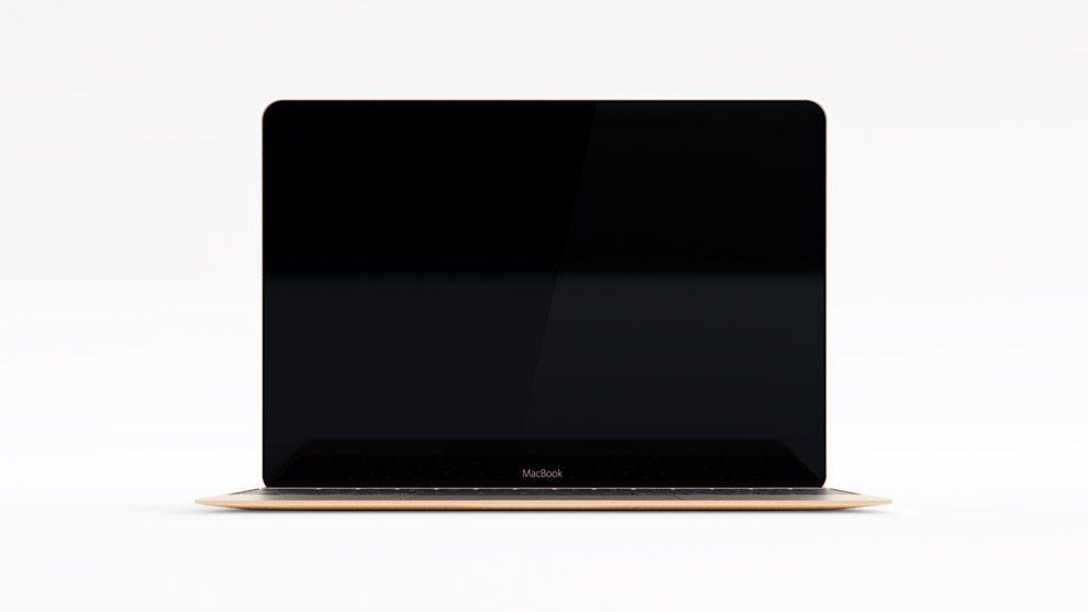 مدل سه بعدی مک بوک 12 اینچی اپل