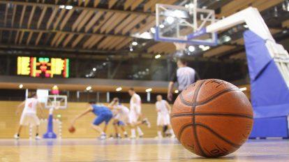 فوتیج زمینه مسابقه بسکتبال