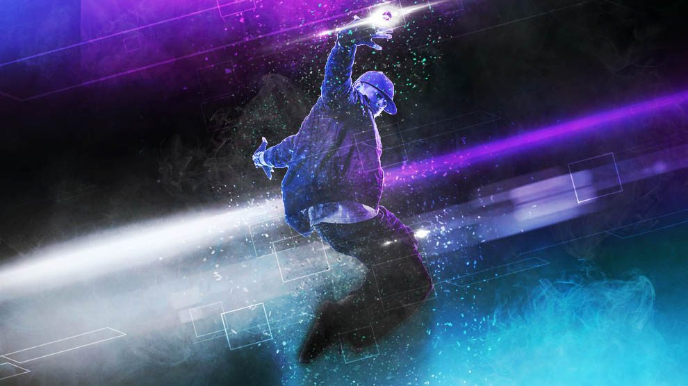 اکشن فتوشاپ رقص Dance