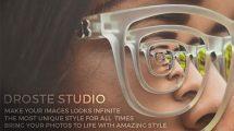 پروژه افترافکت Droste Studio