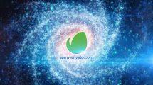 پروژه افترافکت Galaxy Logo Reveal