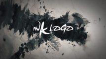 پروژه افترافکت نمایش لوگو با جوهر Ink Logo