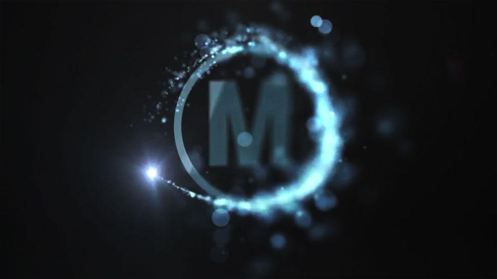 پروژه افترافکت نمایش لوگو با حرکت سریع ذرات