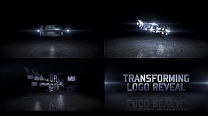پروژه افترافکت نمایش لوگو Transforming Logo Reveal