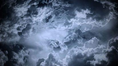 مجموعه موشن گرافیک زمینه ابرهای تاریک