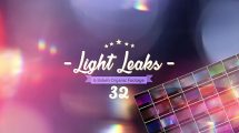 مجموعه ویدیوی موشن گرافیک Light Leaks