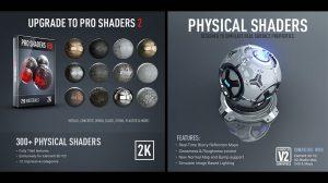 250 متریال سه بعدی Pro Shaders 2 برای Element 3D
