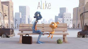 انیمیشن کوتاه Alike