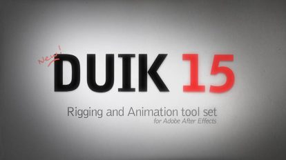 اسکریپت افترافکت Duik برای ساخت انیمیشن و ریگ کاراکتر
