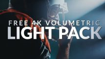 مجموعه 16 فوتیج نور حجمی با کیفیت 4K