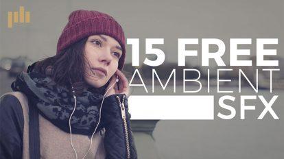 مجموعه 15 افکت صوتی صداهای محیطی