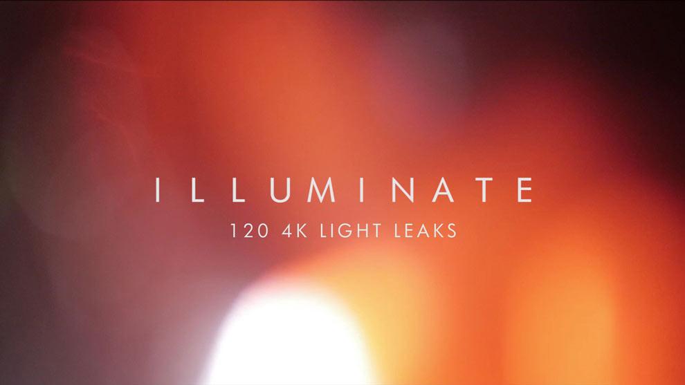 مجموعه فوتیج ویدیویی افکتهای نشتی نور illuminate