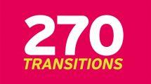 مجموعه موشن گرافیک 270 ترانزیشن ویدیویی