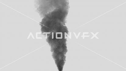 مجموعه فوتیج ویدیویی دود سیاه Smoke Plumes
