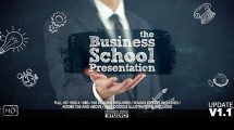 پروژه افترافکت پرزنتیشن تبلیغاتی کسب و کار دانشگاهی