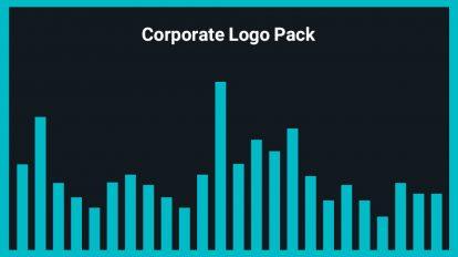 مجموعه موزیک زمینه لوگو Corporate Logo Pack