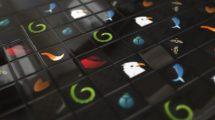 پروژه افترافکت نمایش لوگو Cube Logo Animation 2