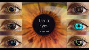 پروژه افترافکت مجموعه 7 تیزر نمایش لوگو Deep Eyes
