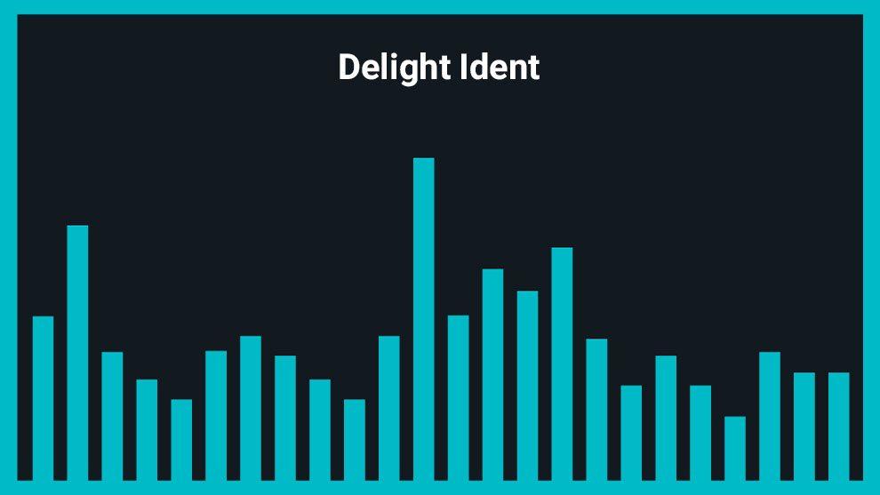 موزیک زمینه لوگو Delight Ident