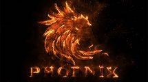 پروژه افترافکت نمایش لوگو شعله آتش