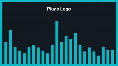 موزیک زمینه لوگو Piano Logo