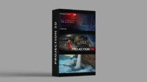 اسکریپت افترافکت انیمیشن سهبعدی تصویر Projection 3D