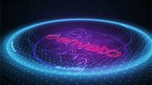 پروژه افترافکت نمایش لوگو تکنولوژی