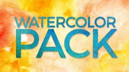مجموعه ویدیوی موشن گرافیک آبرنگ Watercolor Pack