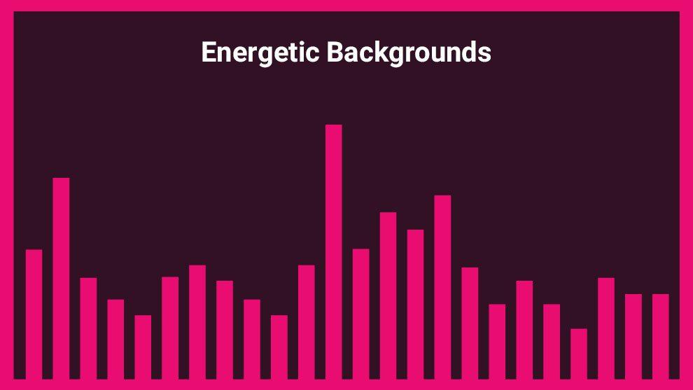 مجموعه 5 موزیک زمینه Energetic Backgrounds