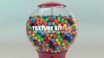 متریال سینما فوردی Texture Kit Pro برای ایجاد تکسچر
