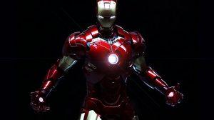 مدل سه بعدی کاملا ریگ شده کاراکتر اصلی مرد آهنی Iron Man