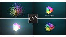 پروژه افترافکت نمایش لوگو Logo Formation