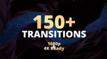 پروژه افترافکت مجموعه 150 ترانزیشن ویدیویی