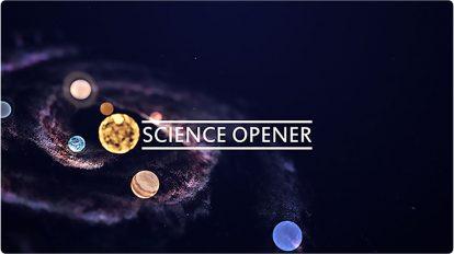پروژه افترافکت افتتاحیه علمی Science Opener