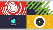 پروژه افترافکت نمایش لوگو اشکال Shape Logo Intro