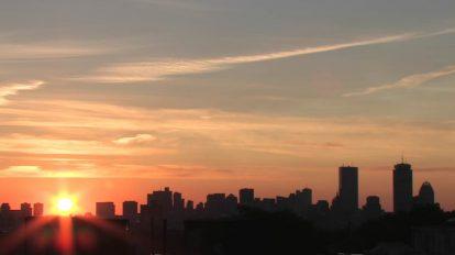 مجموعه فوتیج ویدیویی طلوع خورشید