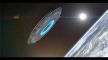 پروژه افترافکت نمایش لوگو علمی تخیلی UFO