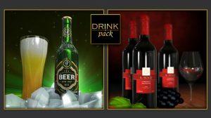 پروژه افترافکت تیزر تبلیغاتی نوشیدنی
