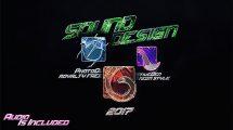 پروژه افترافکت نمایش لوگو بازی Gaming Logo Intro