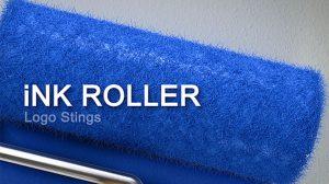 پروژه افترافکت نمایش لوگو با غلتک رنگ Ink Roller