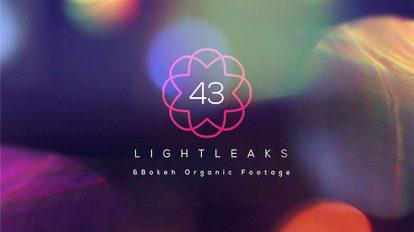 مجموعه 43 ویدیوی موشن گرافیک نشتی نور Light Leaks