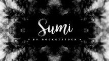 مجموعه فوتیج ویدیویی ترانزیشن جوهری Sumi