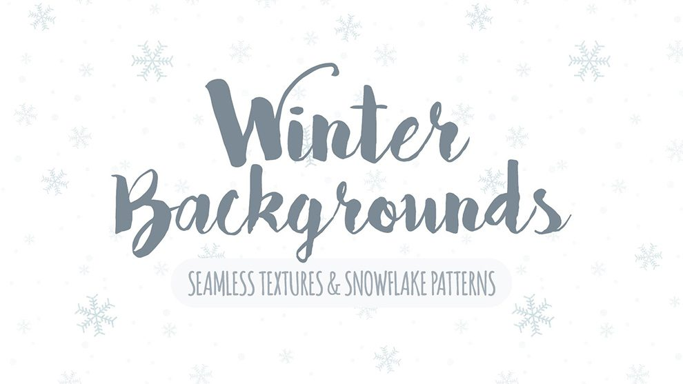 مجموعه تکسچر و پترن فتوشاپ برف ریزه زمستان