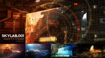 پروژه افترافکت افتتاحیه برنامه علمی Sky Lab