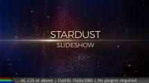 پروژه افترافکت اسلایدشو Stardust Slideshow