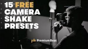 مجموعه 15 پریست افترافکت تکان دوربین