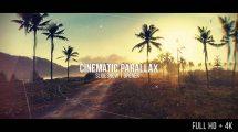 پروژه افترافکت اسلایدشو سینمایی Cinematic Parallax Slideshow